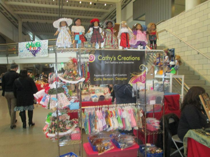 10 best images about craft show display ideas on pinterest for Clothing display ideas for craft shows