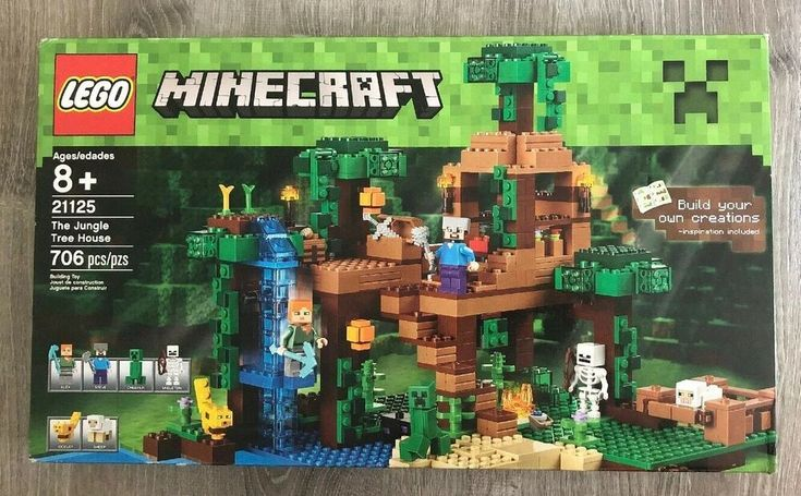 Lego Minecraft The Jungle Tree House 21125 Brand New Factory