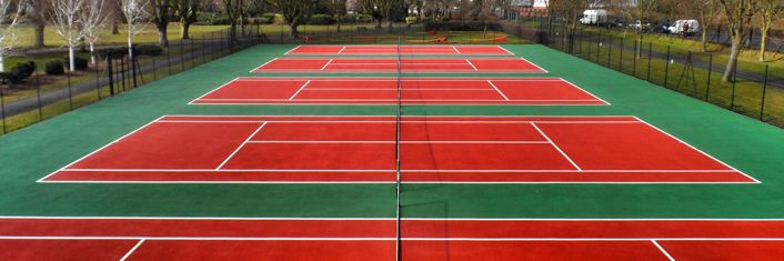 Tennis Court Dimensions in Kent | Tennis Courts Size in Kent | LTA | ITF | SAPCA : Tennis Court Contractors