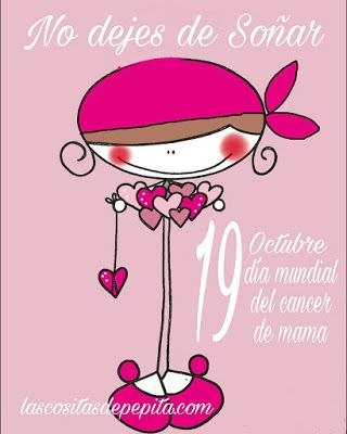 Las cositas de Pepita: Día Mundial del Cáncer de Mama