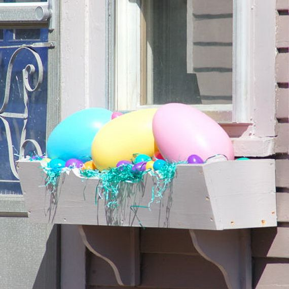 Outdoor Spring Decor: 123 Best Images About Easter