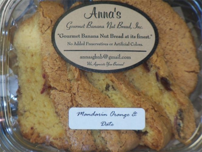 Pin by Anna's Gourmet Banana Nut Bread Inc. on Sensational Sweet Brea ...