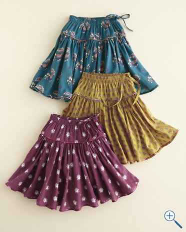 Woven Skirt by Pink Chicken - Girls