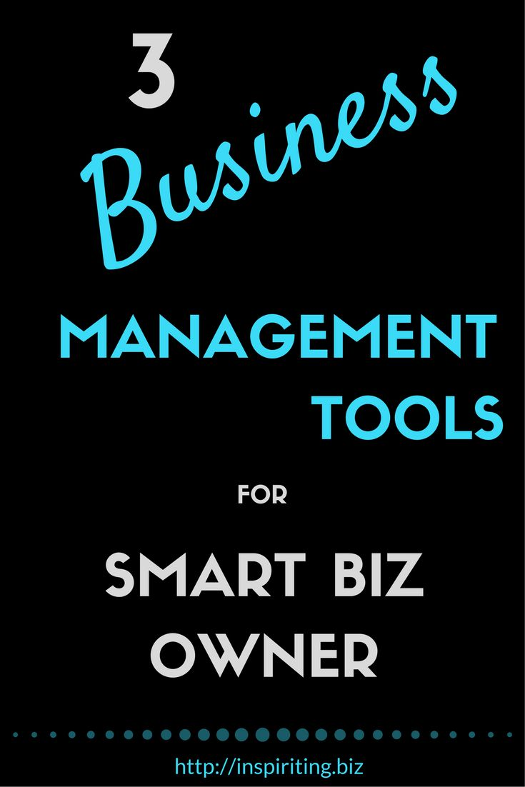 3 Business Management Tools for Smart Biz Owner | There comes a time for every business owner when things get complicated and tough. That's the time when a business management tool comes in handy. -- Repin this & click through to see if one of the 3 business management tools I am describing and comparing are a good fit for your business.