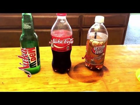 DOES IT WORK?! Nuka Cola Recipe from Pinterest - YouTube