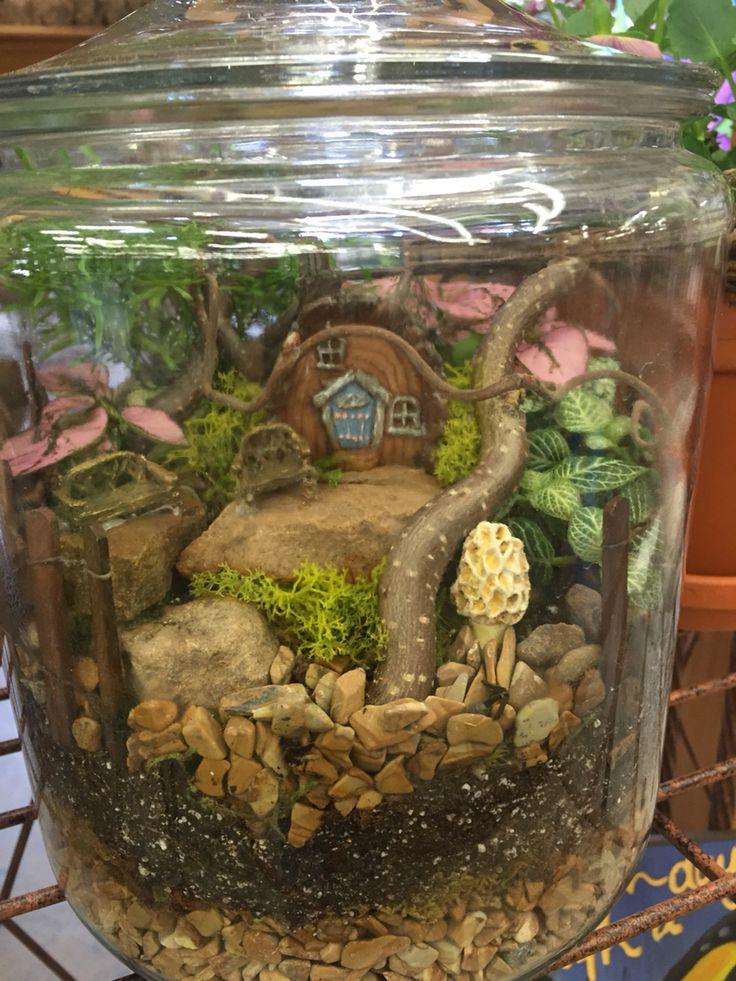 Fairy terrarium by Kristin Middleton