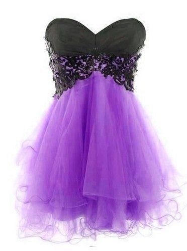 Lace Ball Gown Sweetheart Mini Prom Dress/Homecoming Dress