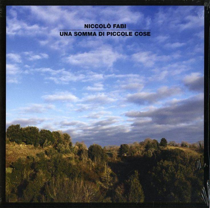 FABI NICCOLO - UNA SOMMA DI PICCOLE COSE LP VINILE SIGILLATO NUOVO
