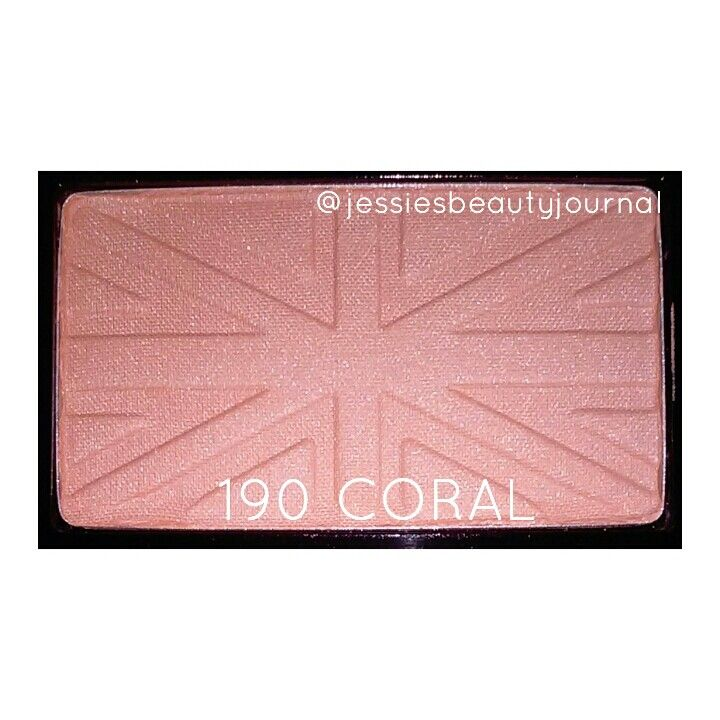 Rimmel blush in 190 coral.