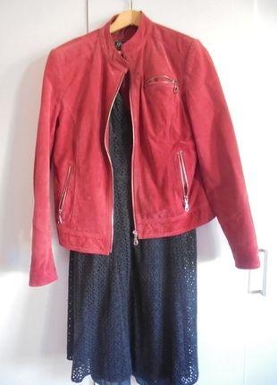 Kup mój przedmiot na #vintedpl http://www.vinted.pl/damska-odziez/kurtki/9976767-kurtka-zamasz-czerwona-z-zamkami