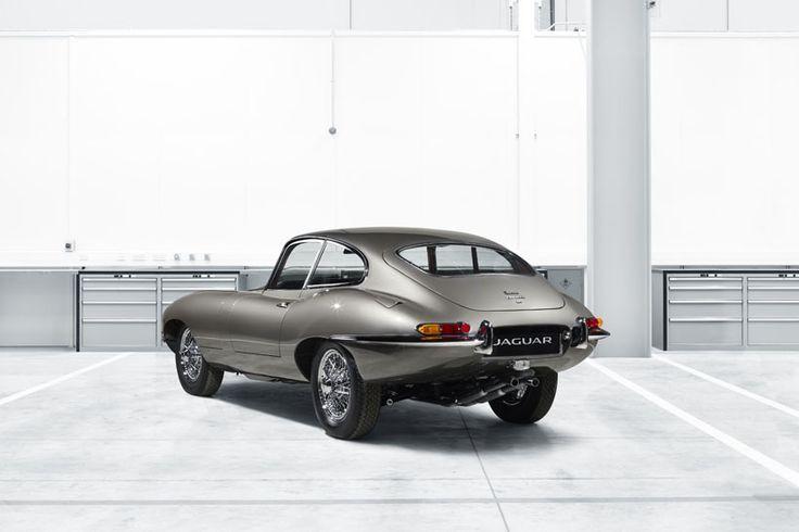 jaguar e type classic reborn designboom