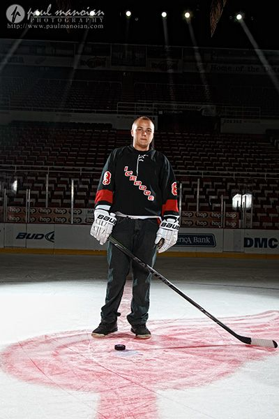 Senior Pictures at Joe Louis Arena - Detroit Red Wings