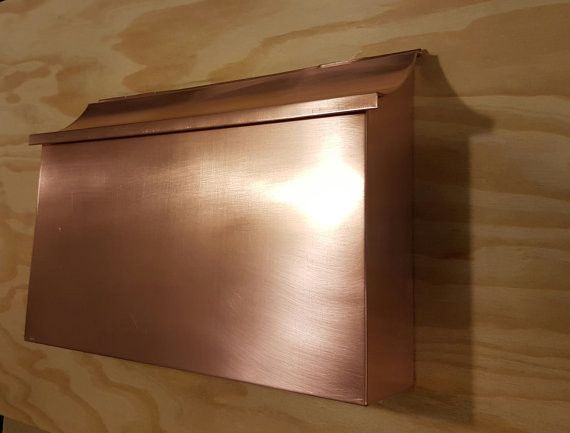 Extra Large Copper Mailbox