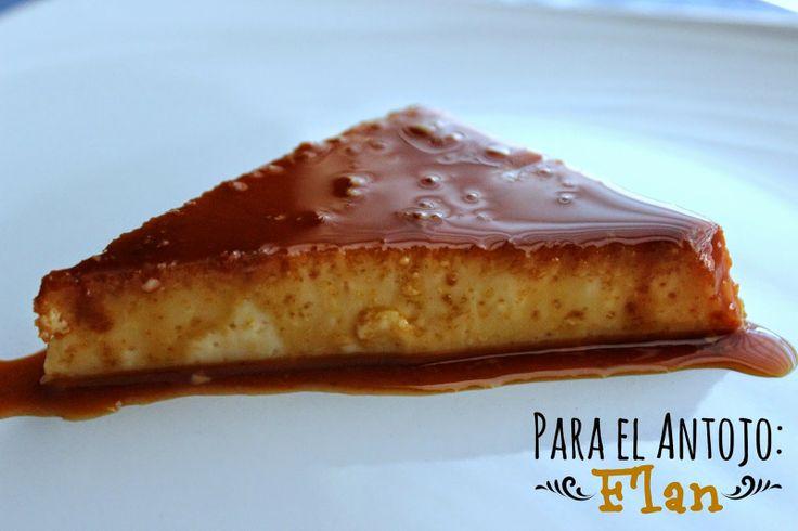 Para el Antojo: Flan, dulce tentación! #postre #Mexicana by www.unamexicanaenusa.com