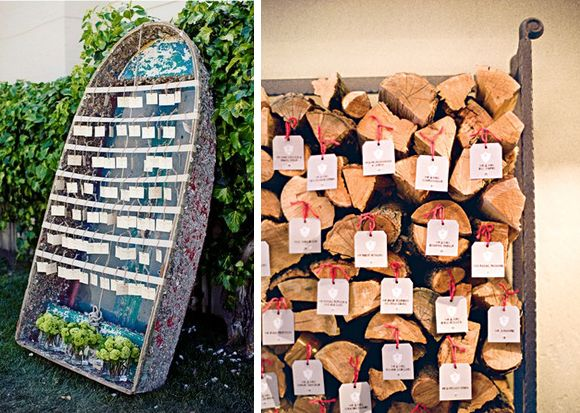 Take a Seat! {Creative Escort Card Displays} | Engaged & Inspired