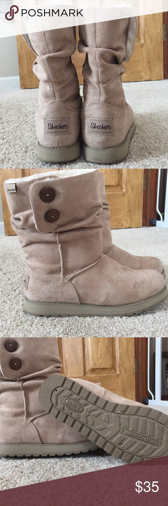 Sketchers boots Sketchers boots size 10. Only worn a few times - excellent condition. Sketchers Shoes Ankle Boots & Booties