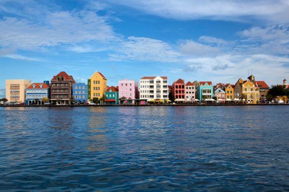"""""""Klein-Amsterdam"""": Willemstad auf der Karibikinsel Curacao."""