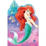 The Little Mermaid Invitations (8pk) $7.95 A495074