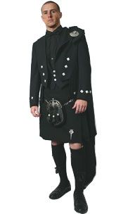 Delux Scottish Wedding Kilt Outfit