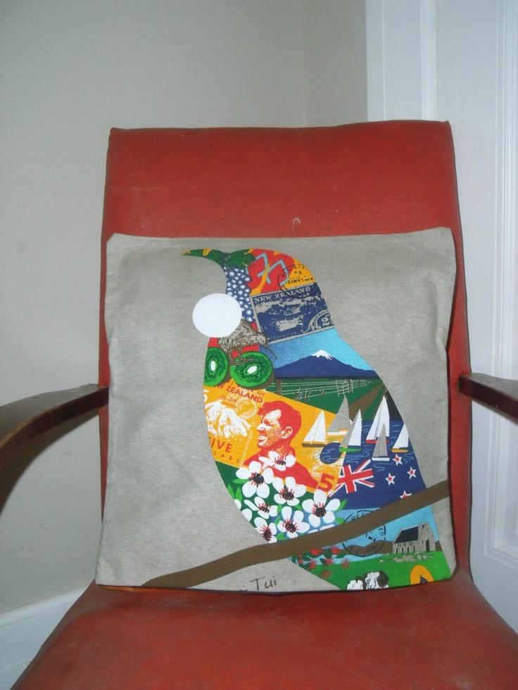 Kiwiana Cushion Cover http://felt.co.nz/listing/90083/KIWIANA-CUSHIONS-COVERS