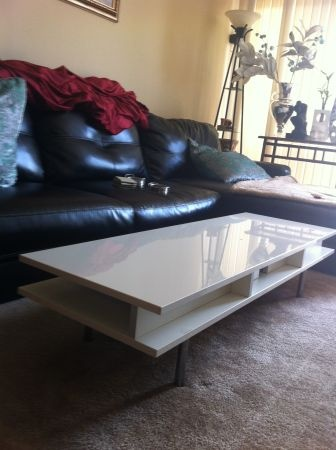 Coffee Table   White   $80 (Coronado)