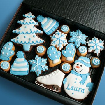 Christmas Cookie Set - Custom Cookie Co., UK