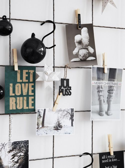Hitta Hem style great idea for Office Area and creative wall mood Board