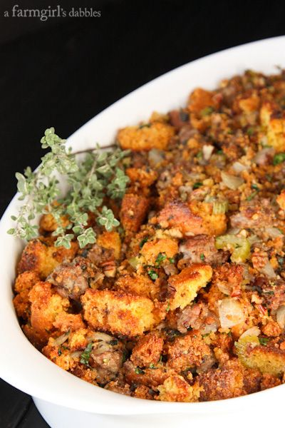 ... Sausage and Pecans | Recipe | Cornbread Dressing, Cornbread and Pecans