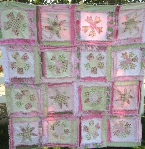Quilting Patterns Instructions : 105 best images about All Rag Quilts on Pinterest Gardens, Quilt and Baby rag quilts