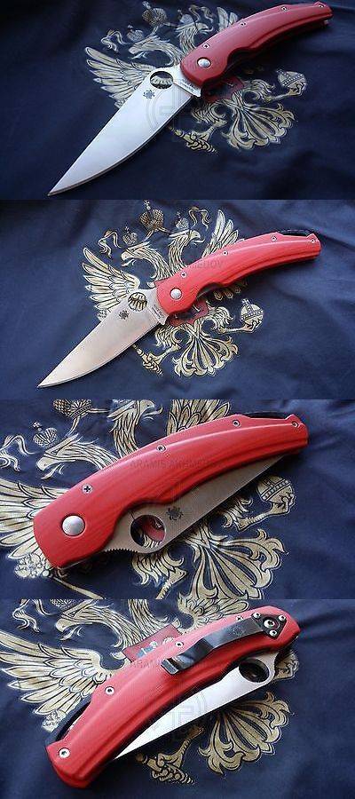 Other Hunting Knives and Tools 7306: Custome, Scales, Handle For Spyderco Military Swift , G10, (Knife Not Included) -> BUY IT NOW ONLY: $75 on eBay!