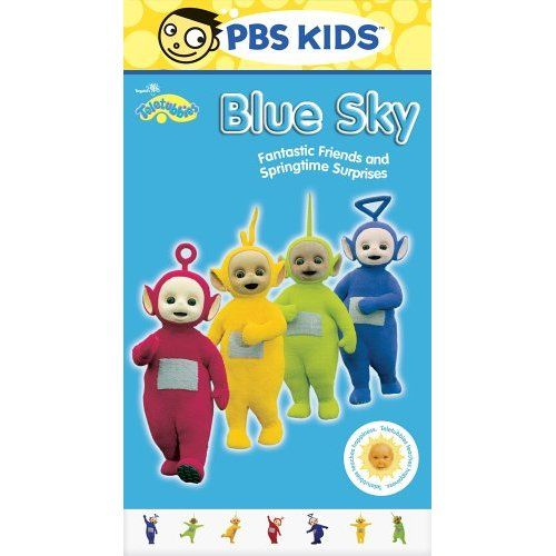 Teletubbies Blue Sky 2006 Vhs (RARE) (With Images