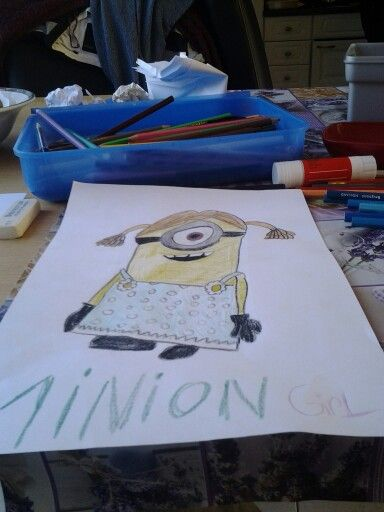 Minion girl