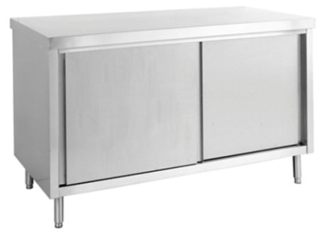 Commercial Stainless Steel Cabinets - Minox DM73-7-1200 Work Bench Cabinet - www.hoskit.com.au | Hoskit Online Store | Sydney, Melbourne, Perth, Brisbane