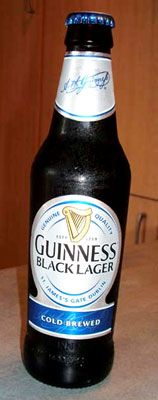 Black Lager beer is dark in colour, like stout. The dark colour comes from darkly-roasted grains. http://www.cooksinfo.com/black-lager