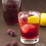 Raspberry shrub recipe {and an easy gin cocktail}