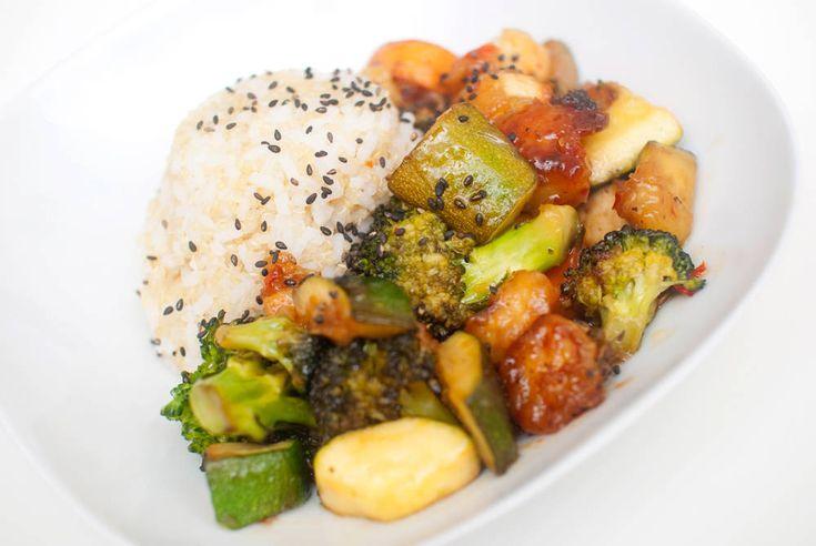Søt chiliwok med tofu, Vegetarbloggen