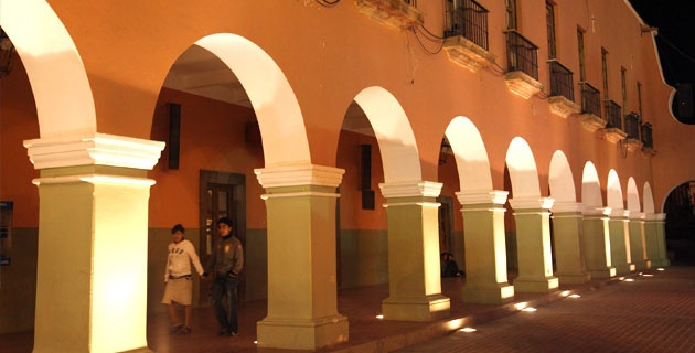 Arcos de la Presidencia Municipal, Guanajuato | México