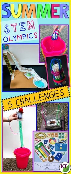 BLOG POST: Teachers, does the end of the year find you struggling to provide meaningful, enjoyable lessons? Never fear, the Summer STEM Challenge 5-in-1 Bundle is here! (grades 2 - 8)