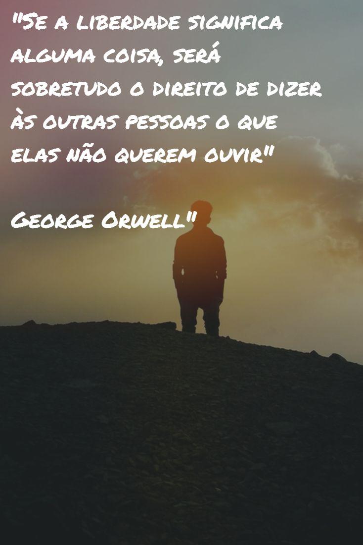 Tenha um bom dia com George Orwell