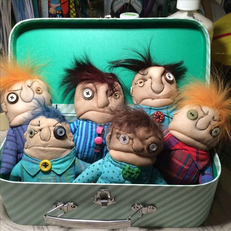 small angry men in a box