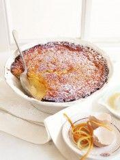 citrus delicious pudding