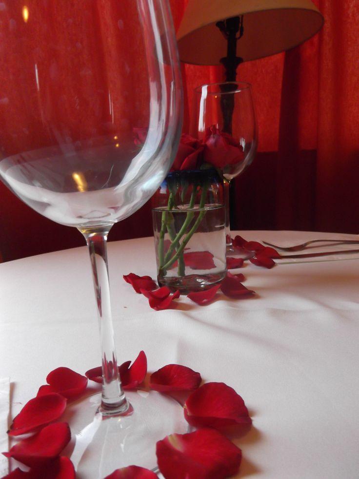 cena romántica en Finca Chipitlán