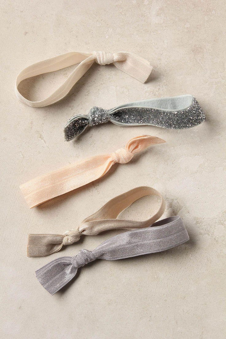 If you haven't splurged, these hair ties are so worth it!: Color Palettes, Ponytail Holders, Hairs Treatments, Diy'S Headbands, Cute Hairs, Multitud Hairs, Hairs Tips, Hairs Accessories, Hairs Ties
