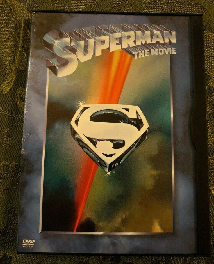 Superman The Movie DVD in 2020 Superman, Superman movies