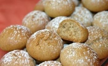 Honing-kaneel koekjes. Koekjes
