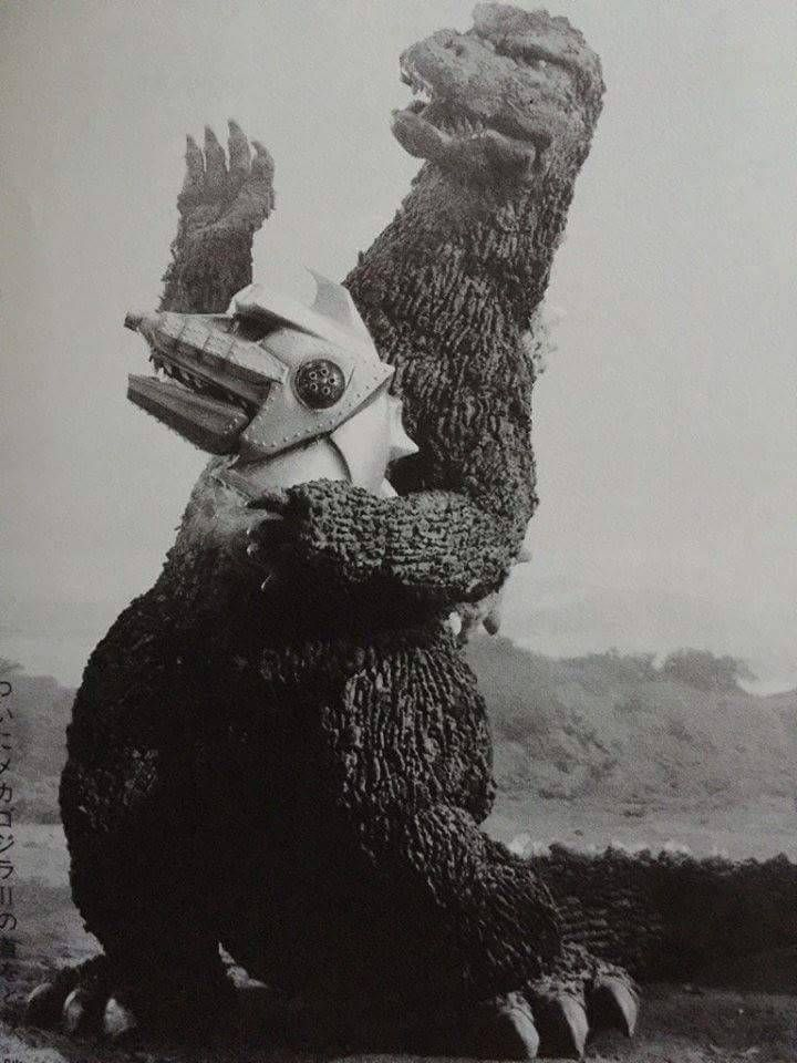 "Fun fact: Godzilla and MechaGodzilla were the stars of a little known adaptation of Shakespeare's ""Hamlet"" with Godzilla as Hamlet and MechaG as Yorick"