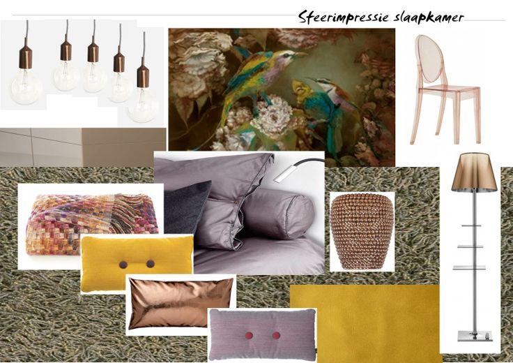 ... Slaapkamer : Sfeerimpressie Interieuradvies slaapkamer met hotelsfeer