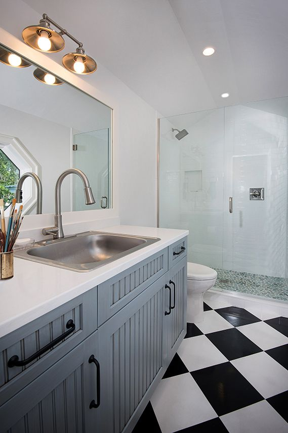 Studio Bath Heavy Duty Sink For Paint Washing Linoleum Floor For
