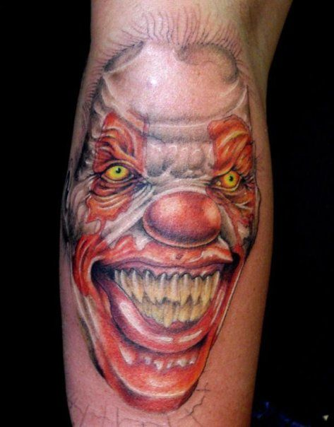 17 best ideas about evil clown tattoos on pinterest evil for Oif tattoo designs