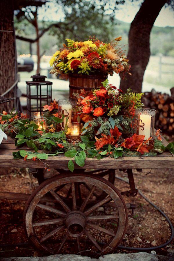A Spadek, jesień, Halloween, Święto Dziękczynienia Blog.